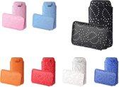 Universele Bling Sleeve voor smartphones, wit , merk i12Cover