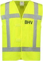 Tricorp Veiligheidsvest RWS BHV - Workwear - 453006 - Fluor Geel - maat XXL
