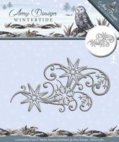 Die - Amy Design - Wintertide - Ice Crystal Swirl
