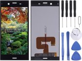 Let op type!! LCD Screen and Digitizer Full Assembly for Sony Xperia XZ1(Black)