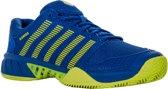 K-Swiss Hypercourt Express HB Tennisschoen Heren Tennisschoenen - Maat 45 - Mannen - blauw/geel