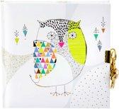 GOLDBUCH GOL-44400 TURNOWSKY dagboek MOSAIC OWL met slot