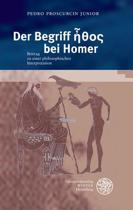 Der Begriff Ethos Bei Homer
