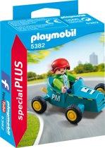 PLAYMOBIL Jongen met cart - 5382
