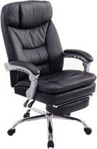 Clp XL Troy - Bureaustoel - kunstleer - zwart