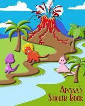 Alyssa's Sticker Book