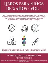 Libros de aprendizaje para ni�os de 2 a�os (Libros para ni�os de 2 a�os - Vol. 1): Este libro tiene 50 im�genes extra grandes con trazos gruesos, para