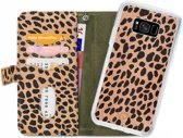 Mobilize 2in1 Gelly Wallet Zipper Case Samsung Galaxy S8 Olive/Leopard