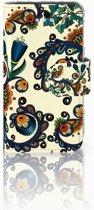 Apple iPhone 4 | 4S Boekhoesje Design Barok Flower