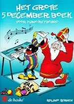 Grote 5 december boek piano/keyboard