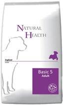 Natural Health  Dog Basic Five - 12,5 KG