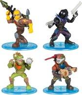 Fortnite Raptor, Rust Lord, Rex en Raven - 4 speelfiguren