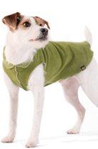 GoldPaw - Stretch Fleece - Pullover Hondenjas - Mos Groen - Maat 14 - Grote maten
