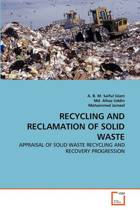 Recycling and Reclamation of Solid Waste