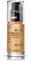 Max Factor Miracle Match -  Blur & Nour - 77 Soft Honey - Foundation