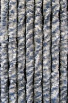Kattenstaart - 100x230 cm - Blauw/Grijs/Wit