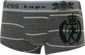 Lupo - Boxershorts Sunga -Street- grijs, maat L
