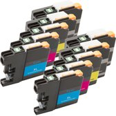 Compatible Brother LC-123 inktcartridges