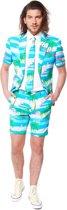 OppoSuits Flaminguy - Mannen Zomer Kostuum - Gekleurd - Feest - Maat 54