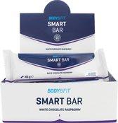 Body & Fit Smart Bars - Eiwitreep - 1 doos (12 eiwitrepen) - White Chocolate Raspberry