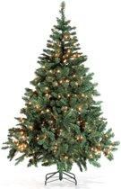 Royal Christmas Dakota Kunstkerstboom - Lengte 180 cm - 250 warme LEDs- 498 Takken