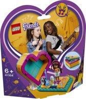 LEGO Friends Andrea's Hartvormige Doos - 41354