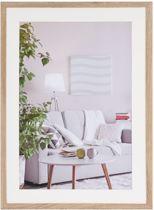 Fotolijst - Henzo - Modern - Fotomaat 50x70 - Bruin