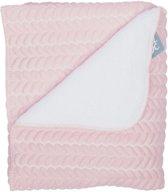 Baby Anne-Cy Butterfly Ledikantdeken Old Pink 120 x 150 cm