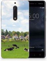 Nokia 5 Uniek TPU Hoesje Koeien