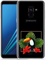 Samsung Galaxy A8 Plus 2018 Hoesje Tucan