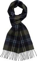 Michaelis heren sjaal - grijs met groen en blauw geruit