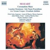 Mozart: Coronation Mass, Ave Verum Corpus / Wildner, Coles