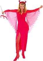 Duivel pak voor dames Halloween kostuum - Verkleedkleding - One size