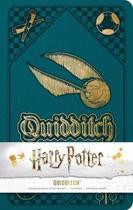 Harry Potter notitieboek Quidditch - Large - Gelinieerd