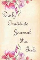 Daily Gratitude Journal For Girls