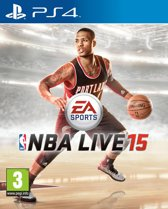 PS4 Game NBA Live 15