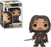 Funko Pop! Movies: The Lord Of The Rings Aragorn Volwassenen En Kinderen - Verzamelfiguur