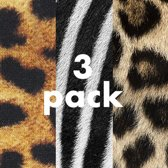 Sock My Feet - 3 pack Trending -  Damessokken – Katoen – geprinte sok - 36-38