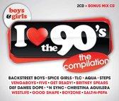 I Love The 90'S Boys+Girls