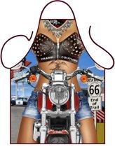 Party schort - Biker Girl