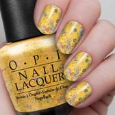 o.p.i. nail lacquer, pineapples have pealings tool