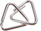 Johntoy Hersenkraker Metalen Puzzel In Display Zilver/paars