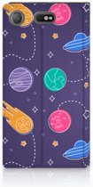 Sony Xperia XZ1 Compact Standcase Hoesje Space