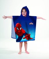 Spiderman Ultimate - Poncho - 60 x 120 cm - Blauw
