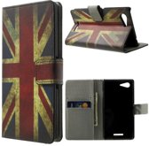 UK vlag wallet hoesje Sony Xperia E3