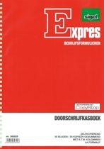 Expres doorschrijfkasboek met BTW kolom