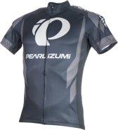 Pearl Izumi Elite Ltd Wielrenshirt Heren  Fietsshirt - Maat S  - Mannen - zwart/grijs