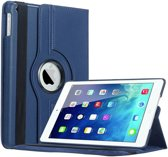 iPad Air 2 hoesje 360 graden Multi-stand draaibaar - Donker Blauw