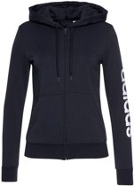 W Essentials Linear Fz Hoody Dames Vest