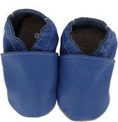 Hobea babyslofjes unifarben blau Maat: 26-27 (17,5 cm)